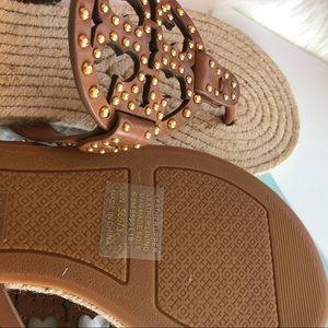 Tory Burch Shoes - Tory Burch Miller Stud Espadrille Sandals